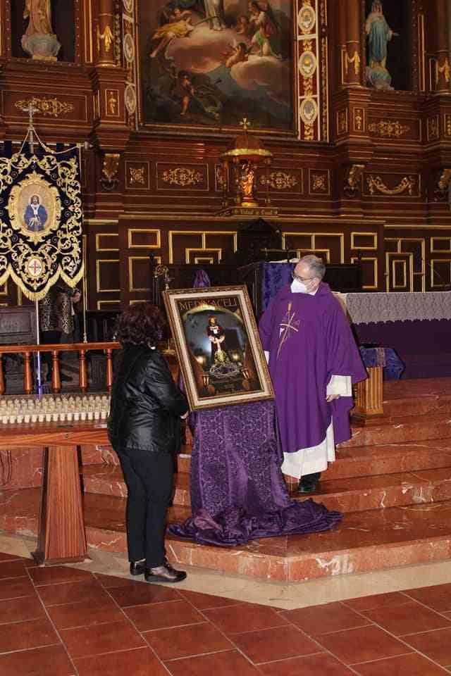 La hermandad de Jesús de Medinaceli presenta el cartel de su estación de penitencia 8
