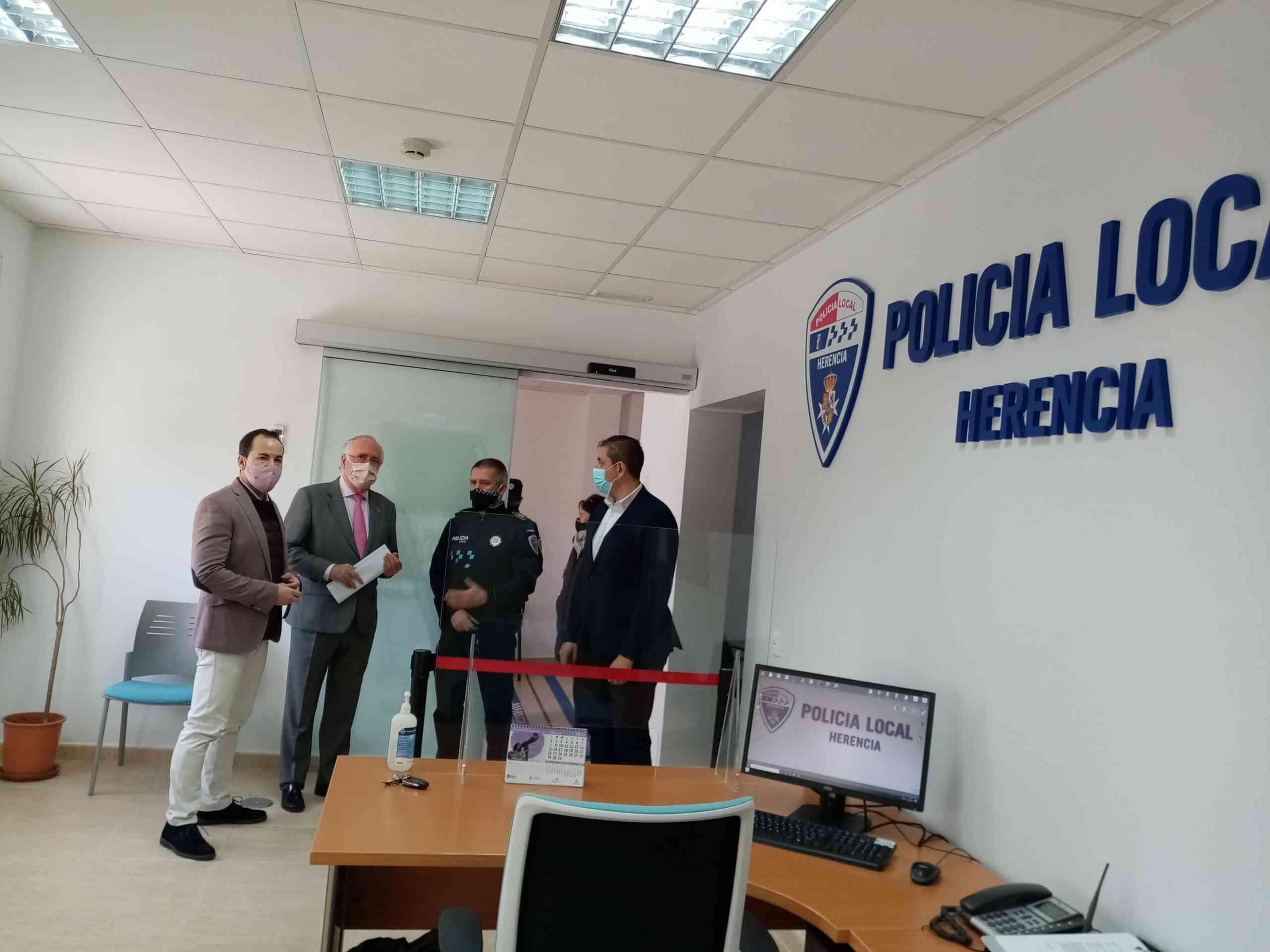La Policía Local de Herencia inaugura sus nuevas instalaciones 5