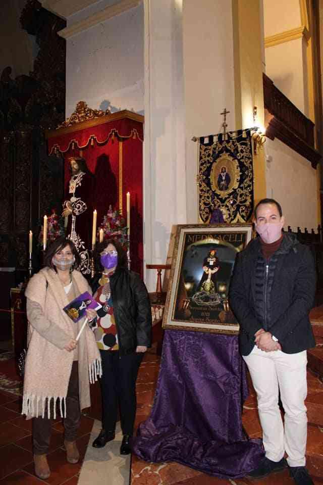 La hermandad de Jesús de Medinaceli presenta el cartel de su estación de penitencia 10