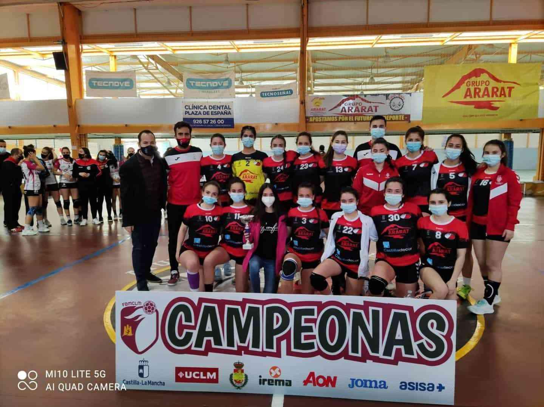 Última jornada de la Liga Juvenil Femenina de Balonmano en Herencia 6