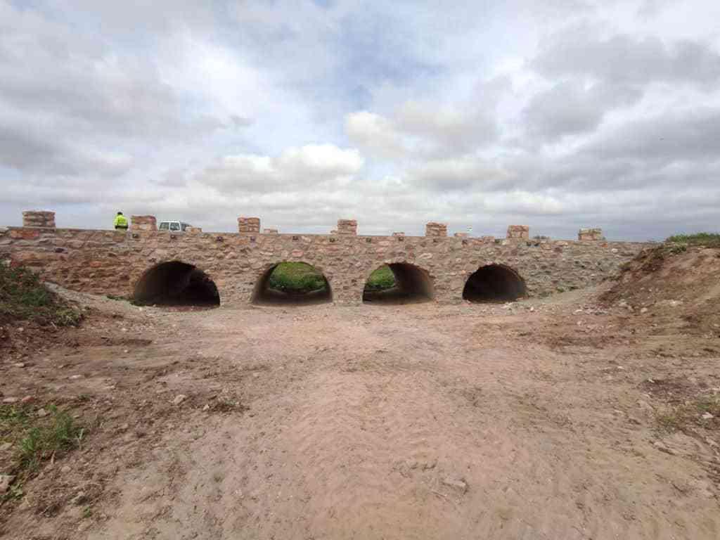 Terminadas las obras sobre el puente de Valdespino 4