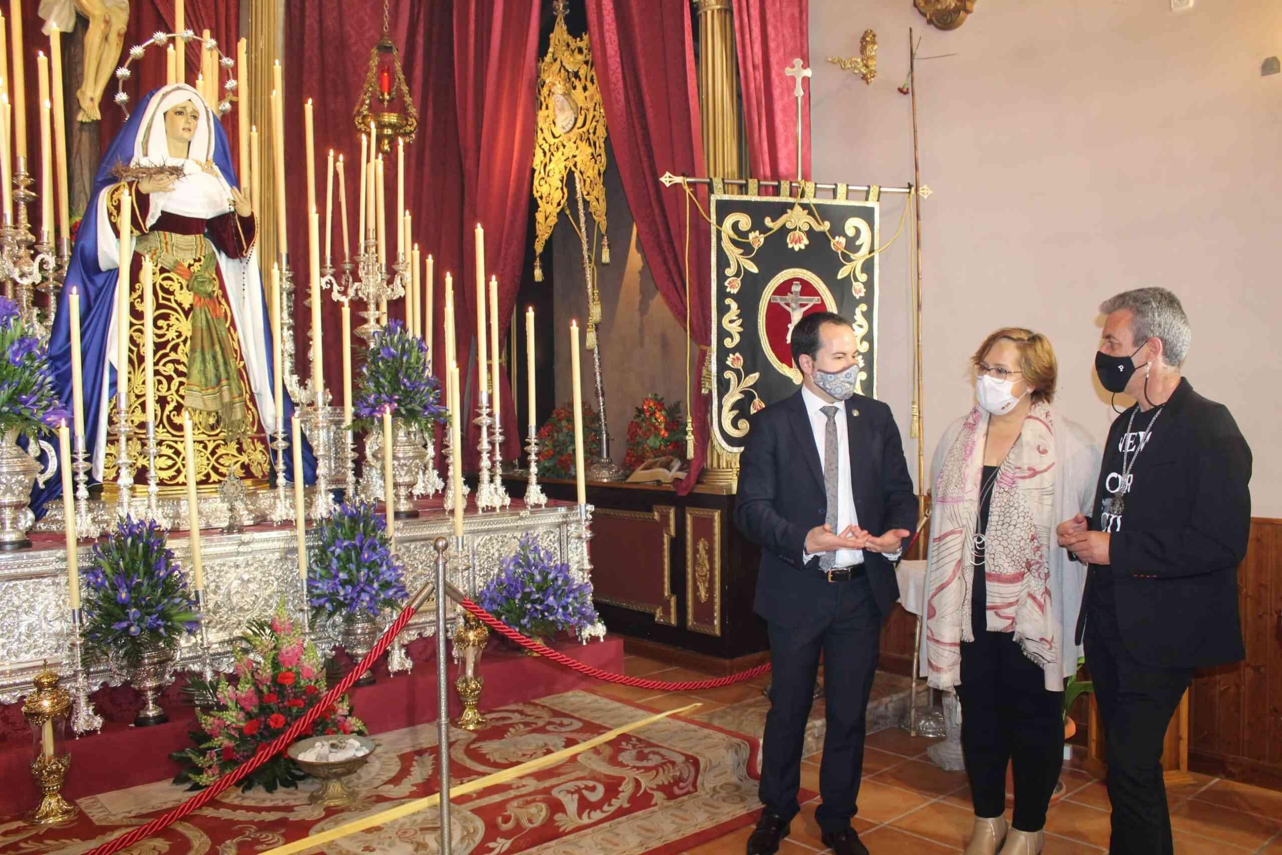 Castilla-La Mancha muestra su apoyo a la Semana Santa de Herencia y felicita a las hermandades por su trabajo durante todo el año 4