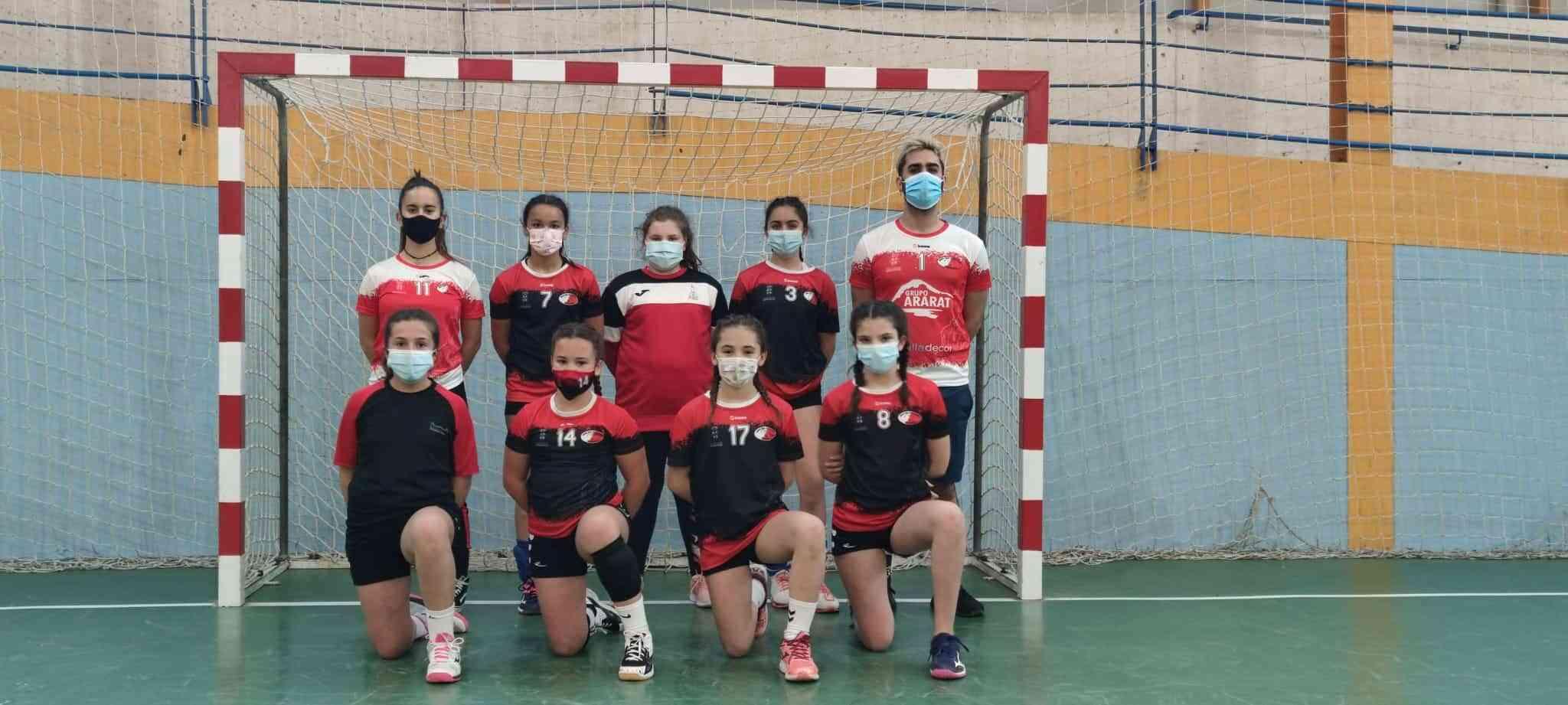Balonmano en la semana del deporte escolar en Herencia 6