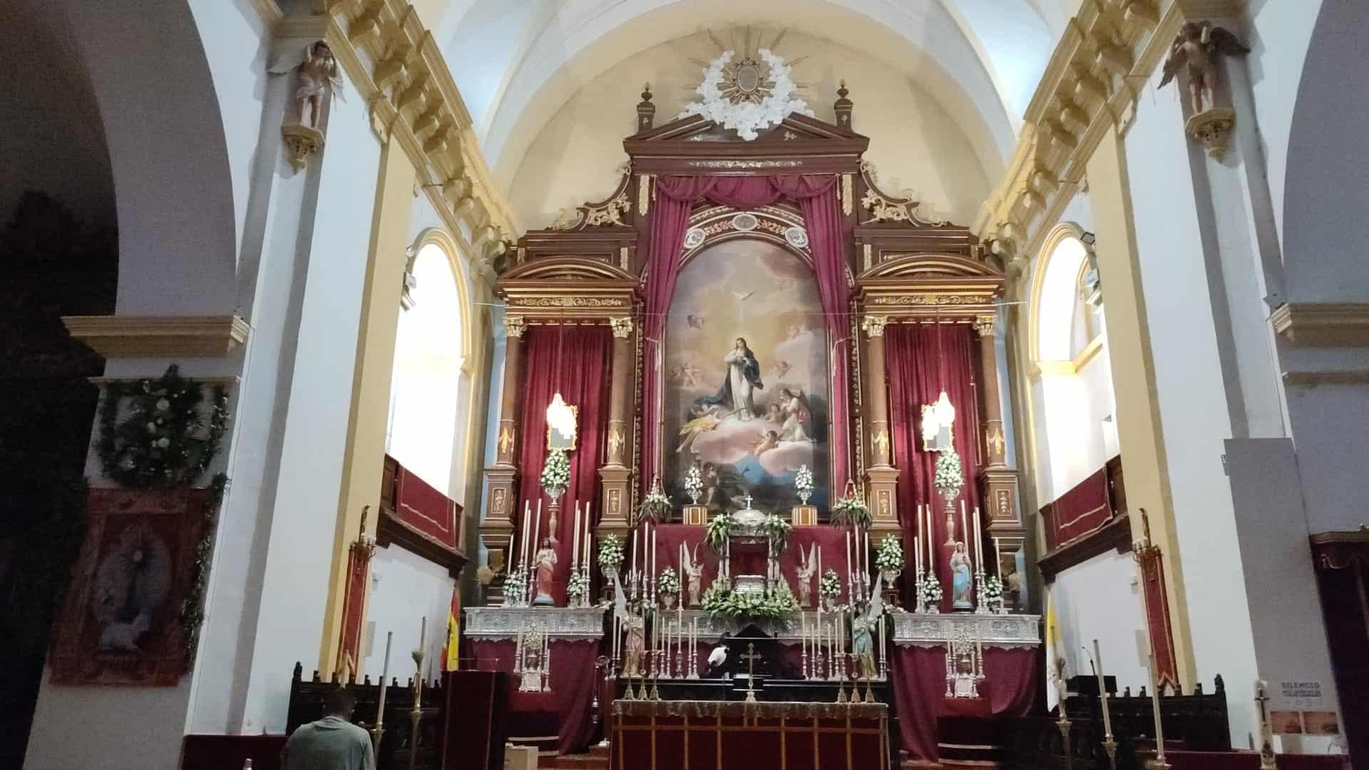 Celebración del Corpus Christi en la parroquia de Herencia 4