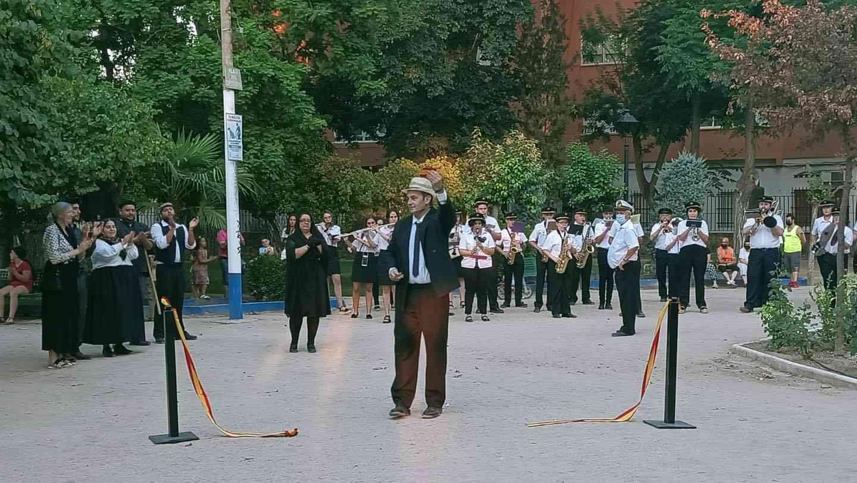 Visita teatralizada de la inauguración el Parque Municipal de Herencia 6