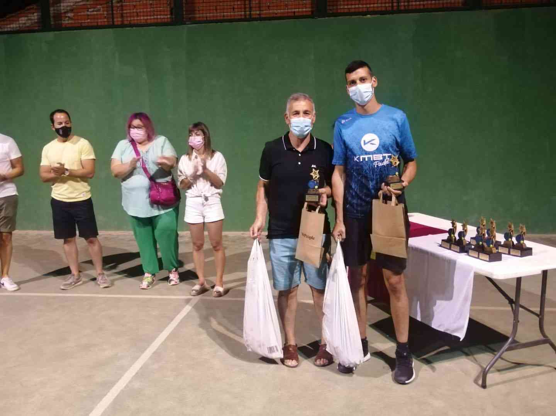 Entrega de trofeos del VI Torneo de Pádel de Verano en Herencia 13