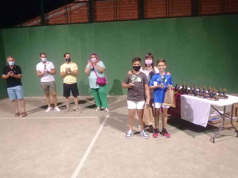 Entrega de trofeos del VI Torneo de Pádel de Verano en Herencia 19