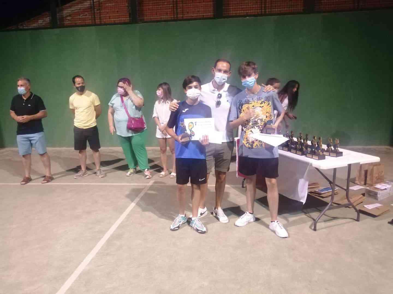 Entrega de trofeos del VI Torneo de Pádel de Verano en Herencia 18