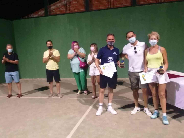 Entrega de trofeos del VI Torneo de Pádel de Verano en Herencia 12