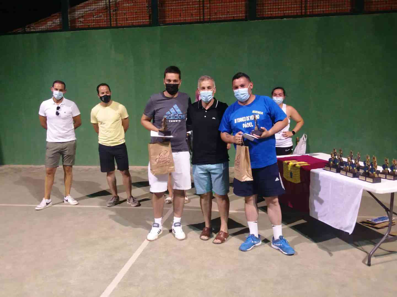 Entrega de trofeos del VI Torneo de Pádel de Verano en Herencia 16