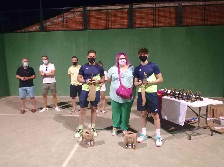 Entrega de trofeos del VI Torneo de Pádel de Verano en Herencia 17