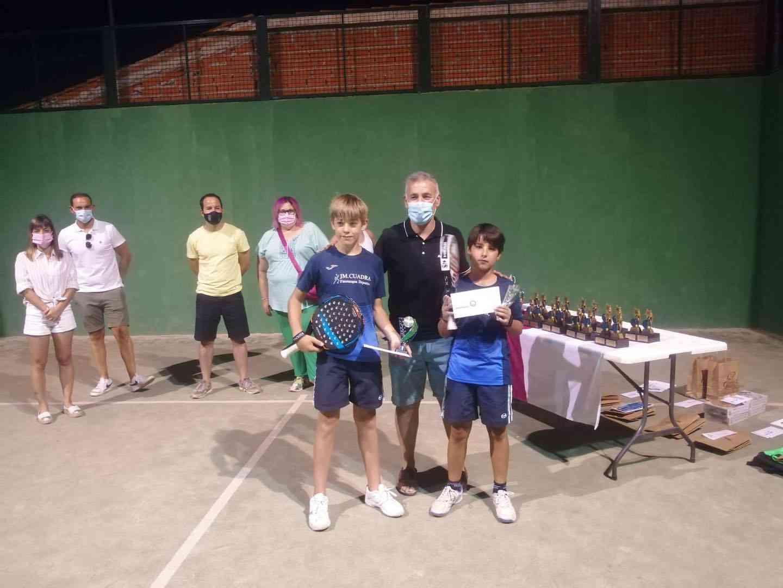 Entrega de trofeos del VI Torneo de Pádel de Verano en Herencia 20