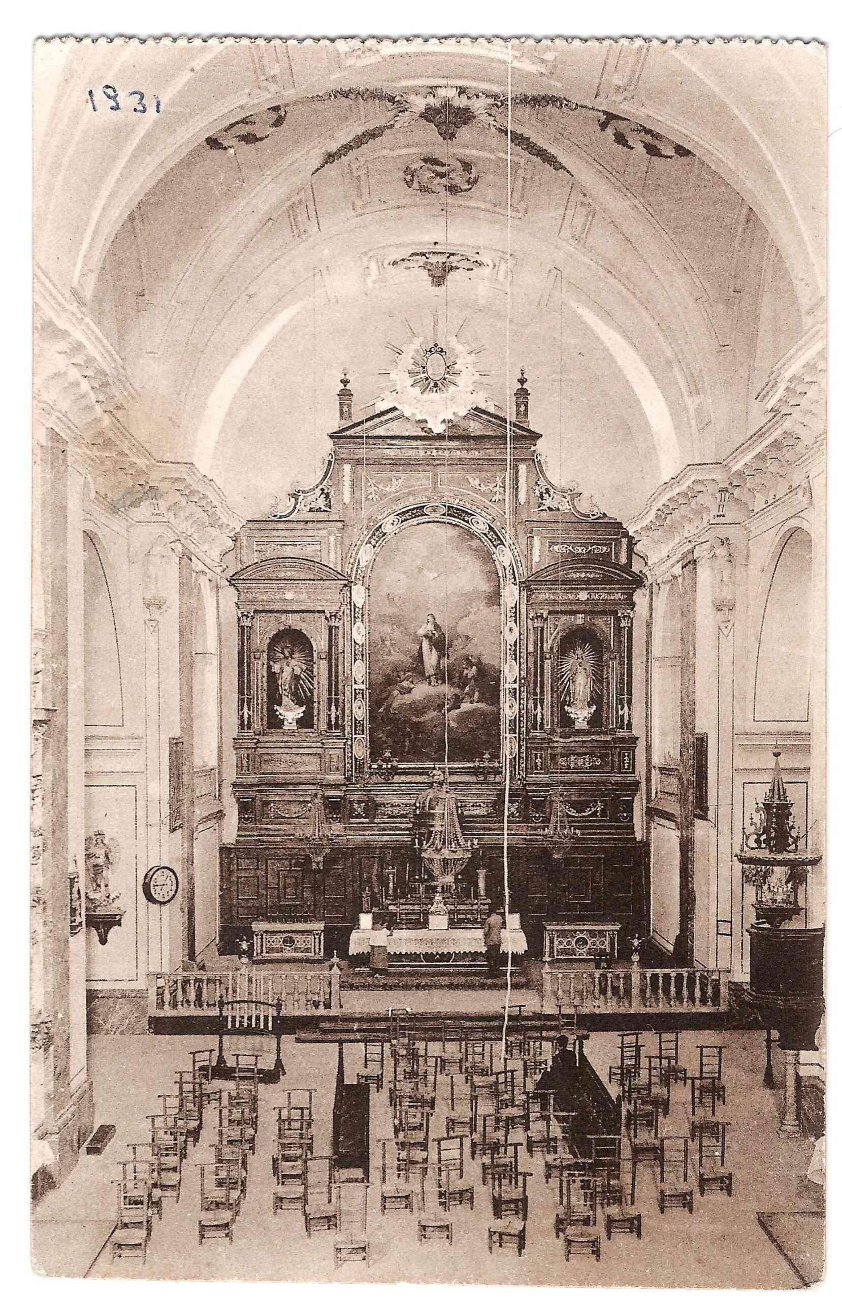 Conociendo Herencia: Retablo y lienzo de la Inmaculada Concepción 6