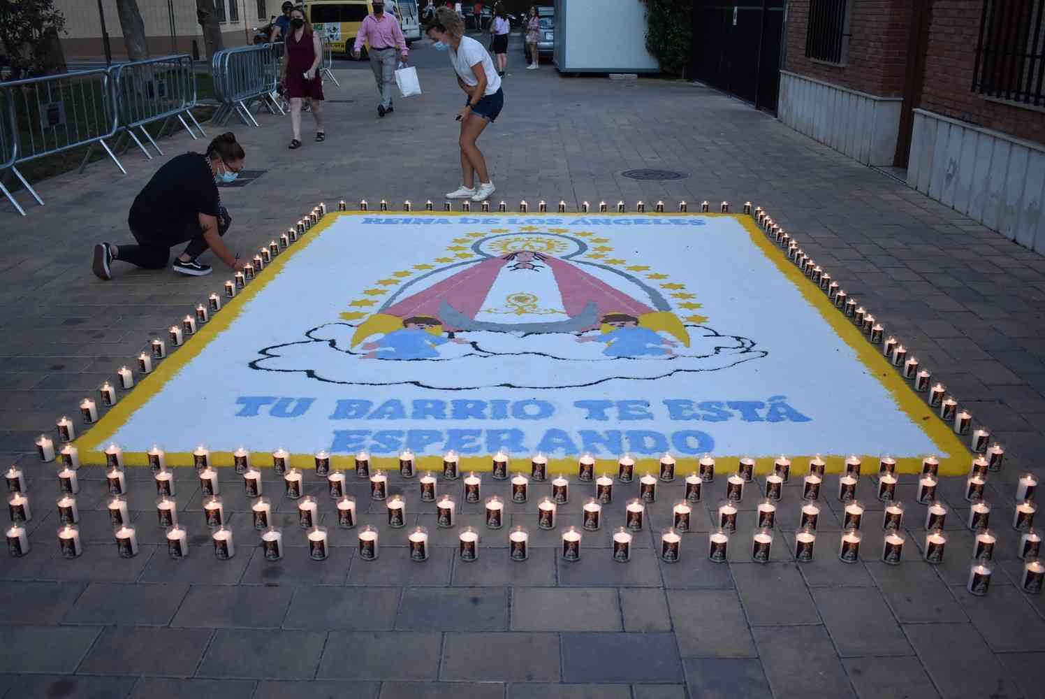 homenaje a las víctimas y afectados por el COVID-19