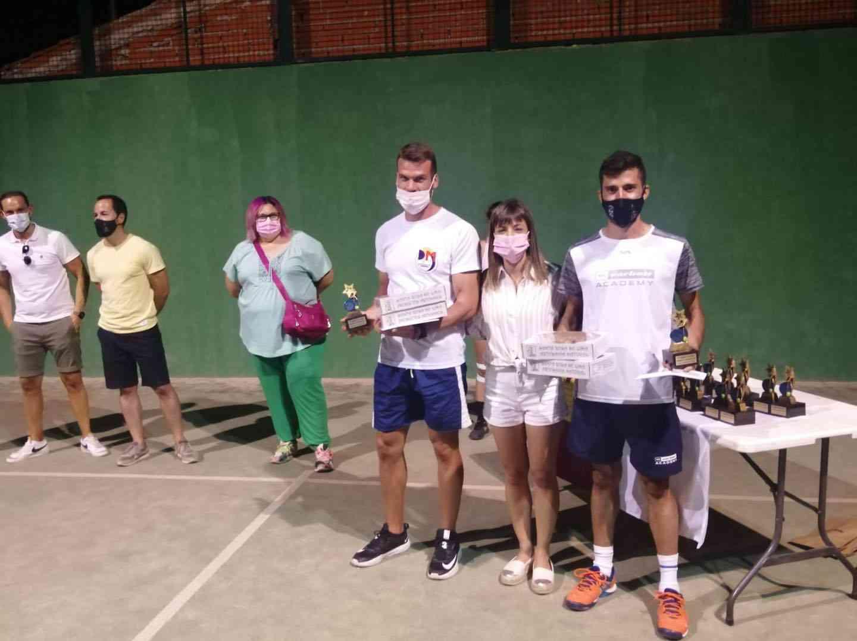 Entrega de trofeos del VI Torneo de Pádel de Verano en Herencia 14