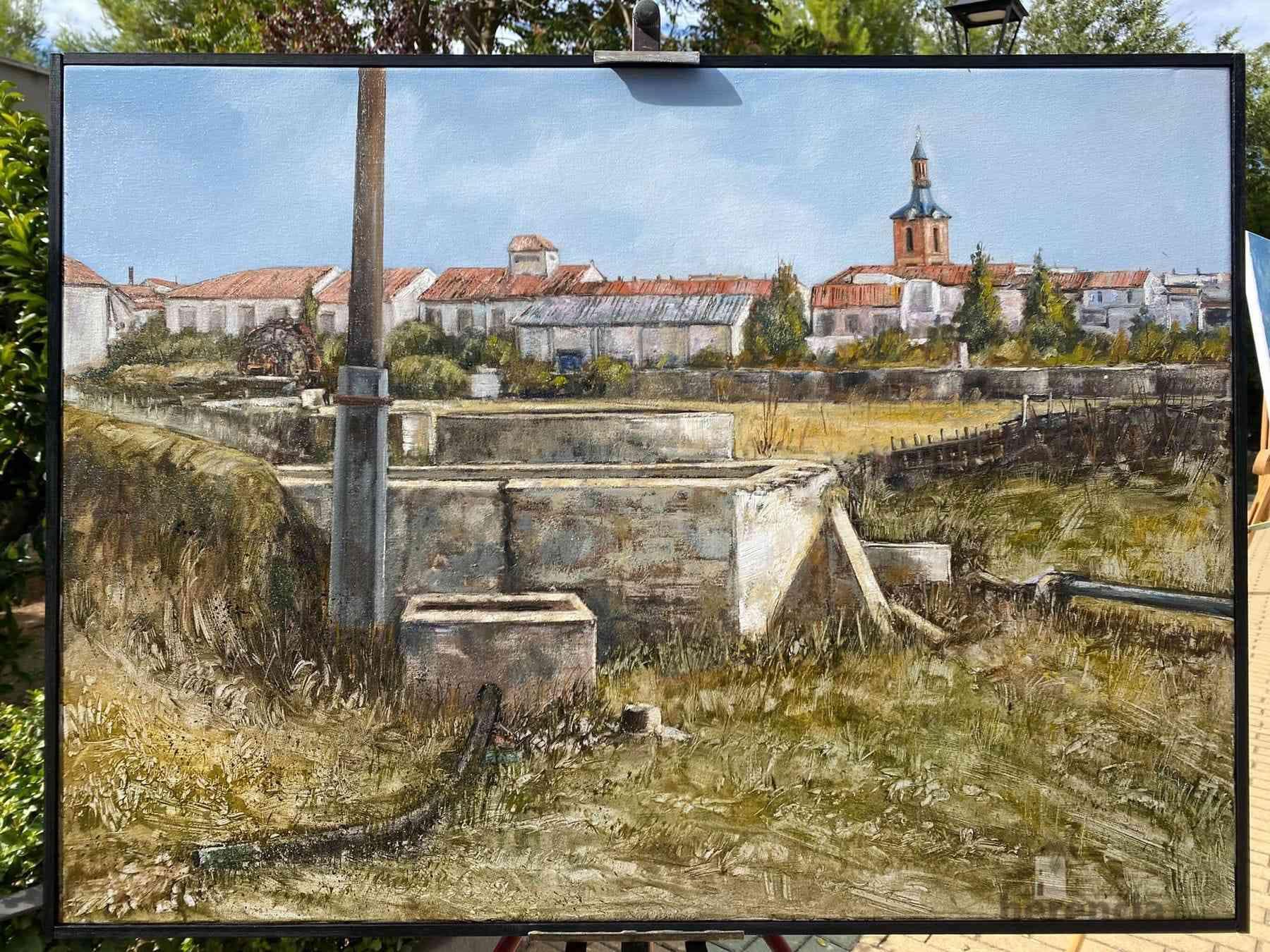 """Galería de cuadros del XIV Certamen Nacional de Pintura Rápida """"Villa de Herencia"""" 28"""