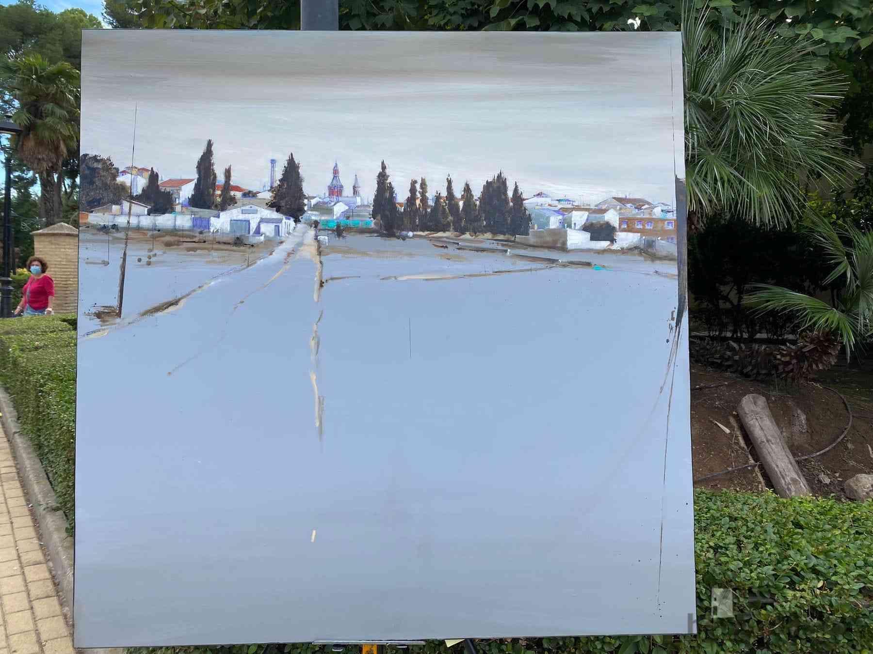 """Galería de cuadros del XIV Certamen Nacional de Pintura Rápida """"Villa de Herencia"""" 42"""